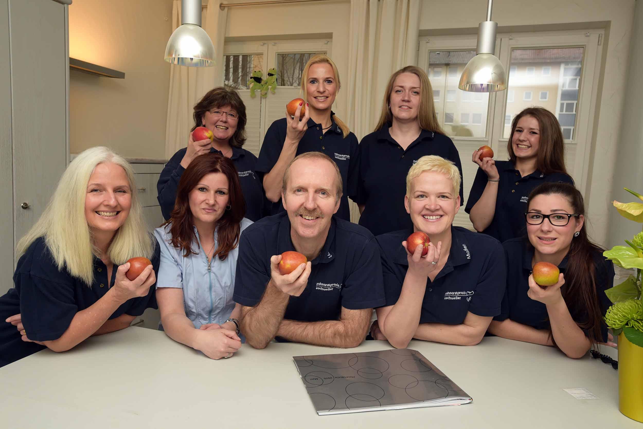 Das Team Zahnarztpraxis Eschweiler